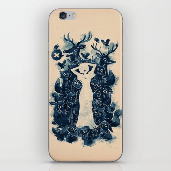 Dark Forest iPhone & iPod Skin