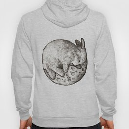 Rabbit On The Moon Hoody