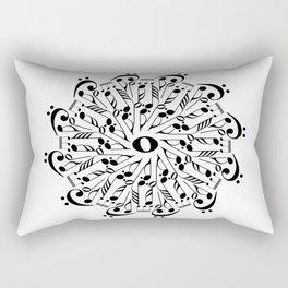 Musical mandala Rectangular Pillow