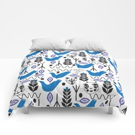 Peace Fashionista Cats Comforters
