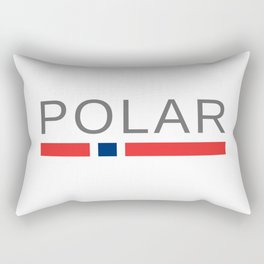 Polar Rectangular Pillow