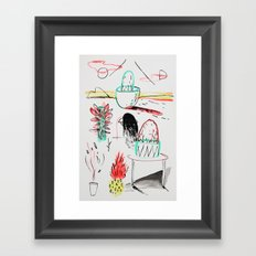 Outdoor Plants Framed Art Print