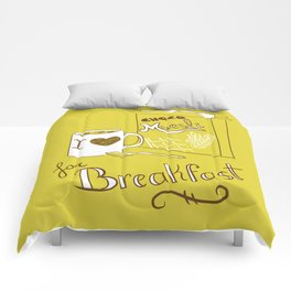 I love chocomuesli! Comforters