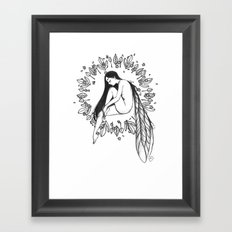Sad Dream Framed Art Print