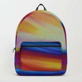 'Daydreamer' - Sky Art - Fantasy Sky Art - Abstract Sky Art - Celestial Sky - Colourful Sky Backpack
