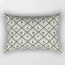 Batik Sido Luhur - Authentic Traditional Pattern Rectangular Pillow