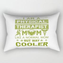 I Am A Physical Therapist Mom Rectangular Pillow