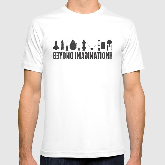 Beyond imagination: USS Enterprise postage stamp  T-shirt