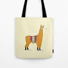 Peruvian Lama Tote Bag