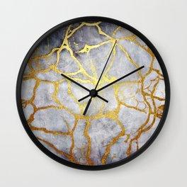 KINTSUGI  ::  Recognise Beauty Wall Clock