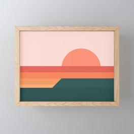 Sunseeker 08 Landscape Framed Mini Art Print