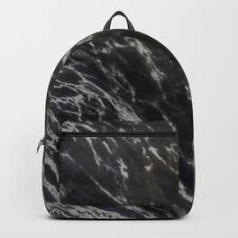 MIDNIGHT BLACK MARBLE Backpack