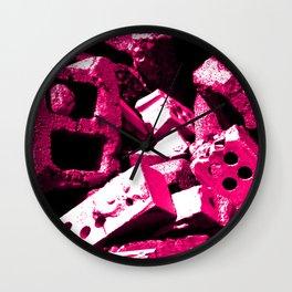 Dream House Rubble Wall Clock