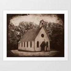 Where Once We Worshipped Art Print