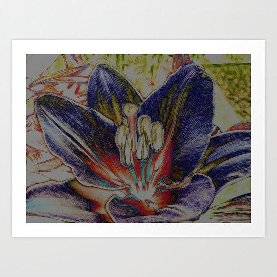 Subtracted Art Print