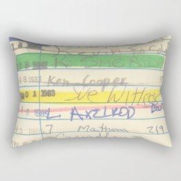 Library Card 3503 Exploring the Moon Rectangular Pillow