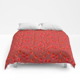 Alizarin Pomegranate Berries Comforters