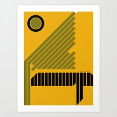 The Grid is Back poster Art Print