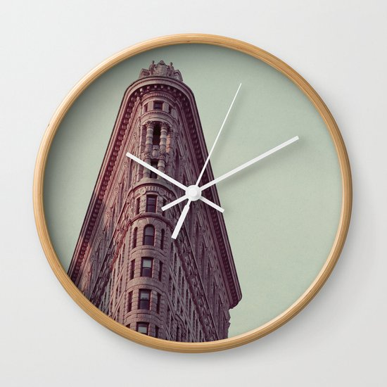 Flatiron #1 Wall Clock