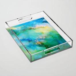 Blellow Acrylic Tray