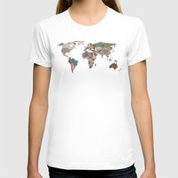 world maps T-shirts featuring Louis Armstrong Told Us So by Bianca Green