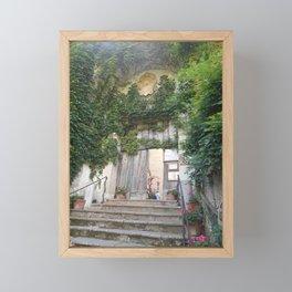 Garden Entrance in Ravenna Framed Mini Art Print