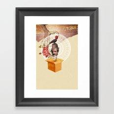 Jack Box  Framed Art Print