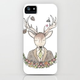 Mr. Deer iPhone Case