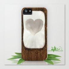 Coconut Love Canvas Print