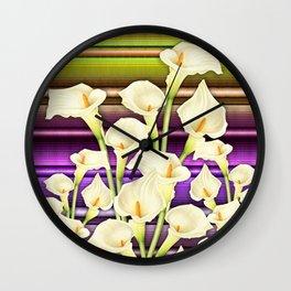 Calla Lilly  Wall Clock