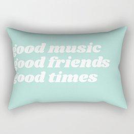 good music Rectangular Pillow