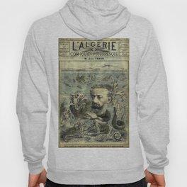 Vintage Jules Verne Periodical Cover Hoody