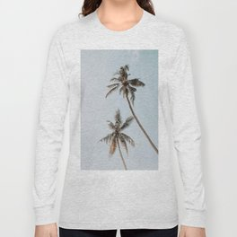 two palm trees Long Sleeve T-shirt
