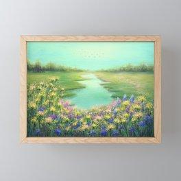 Whispers of Wildflowers Framed Mini Art Print