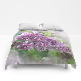 Soft Lilac Comforters