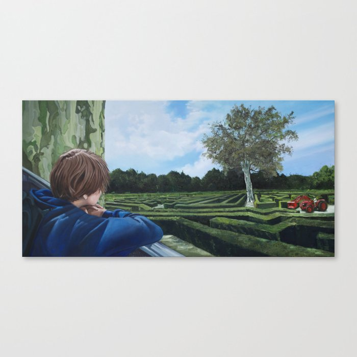 The Labyrinth Canvas Print