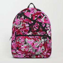 Pink guns camo Backpack