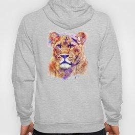 Lioness Head Hoody