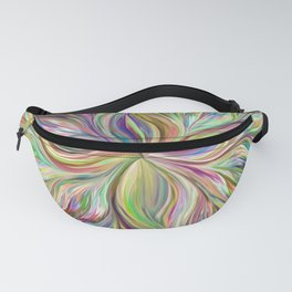 Color abstract Art Fanny Pack
