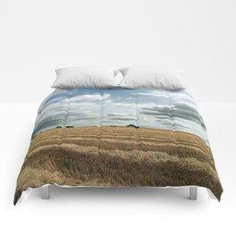 British wheat fields Comforters
