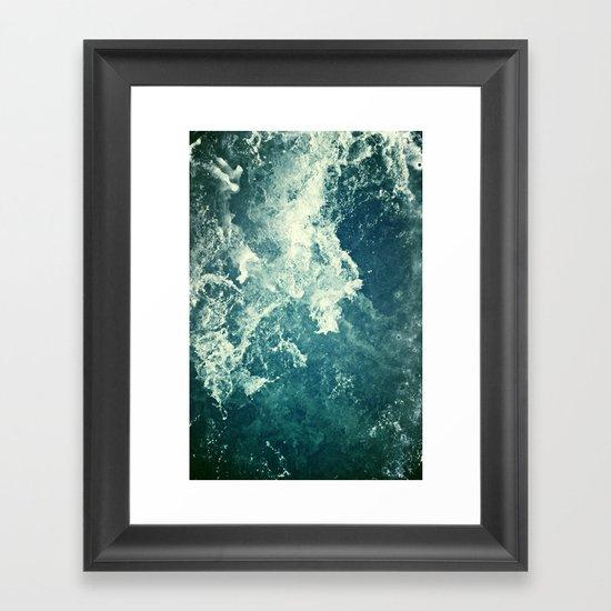 Water III Framed Art Print
