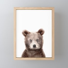 Baby Bear Framed Mini Art Print
