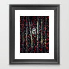 Night so Dark, Where are you? Framed Art Print