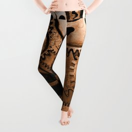 Steam Punk Gears Leggings