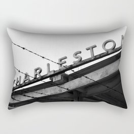 Charleston Barbed Wire Rectangular Pillow