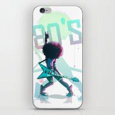 Rock 80's iPhone & iPod Skin