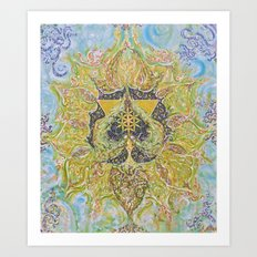 Anahata - Heart Chakra Art Print