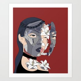 """What grows inside me.."" Art Print"