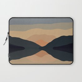 Sunset Mountain Reflection in Water Laptop Sleeve