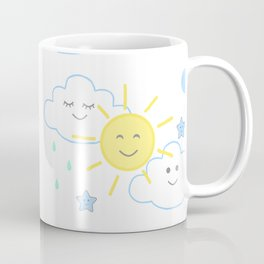 Sun Rain Cloud Nursery Coffee Mug